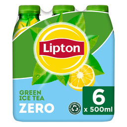 Ice tea | Green | Niet bruisend | 6x0.5L | PET