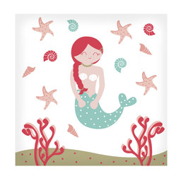 20 Servetten | Mermaid | 33x33cm