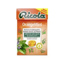 Kruidenpastilles   OrangeMint   Suikervrij