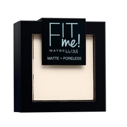 Poeder | Fit Me Matte & Poreless | 100 | Warm Ivory