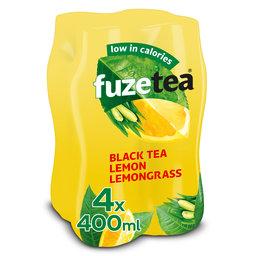 Thé noir | N pétillant | Citronelle | PET