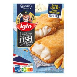 2 Filets de poisson façon Fish & Chips