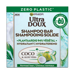 Kokoswater & Aloe Vera | Shampoo Bar 60gr | Droog Haar