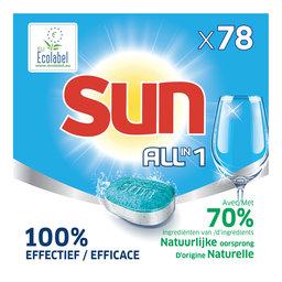Tablettes lave-vaisselle   Regular   78 Tabs