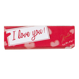Chocolade | I Love You | melkchocolade | praliné
