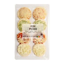 8 Mini pizzas