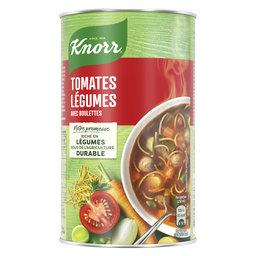 Soupe Can   Tomates légumes