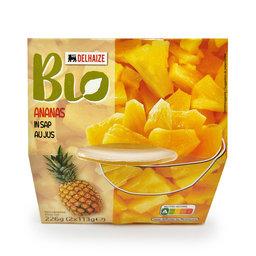 Ananas   Blokjes   Sap   Bio