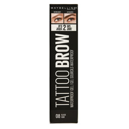 Tattoo Gel Sourcils | Waterproof | 08 | Black