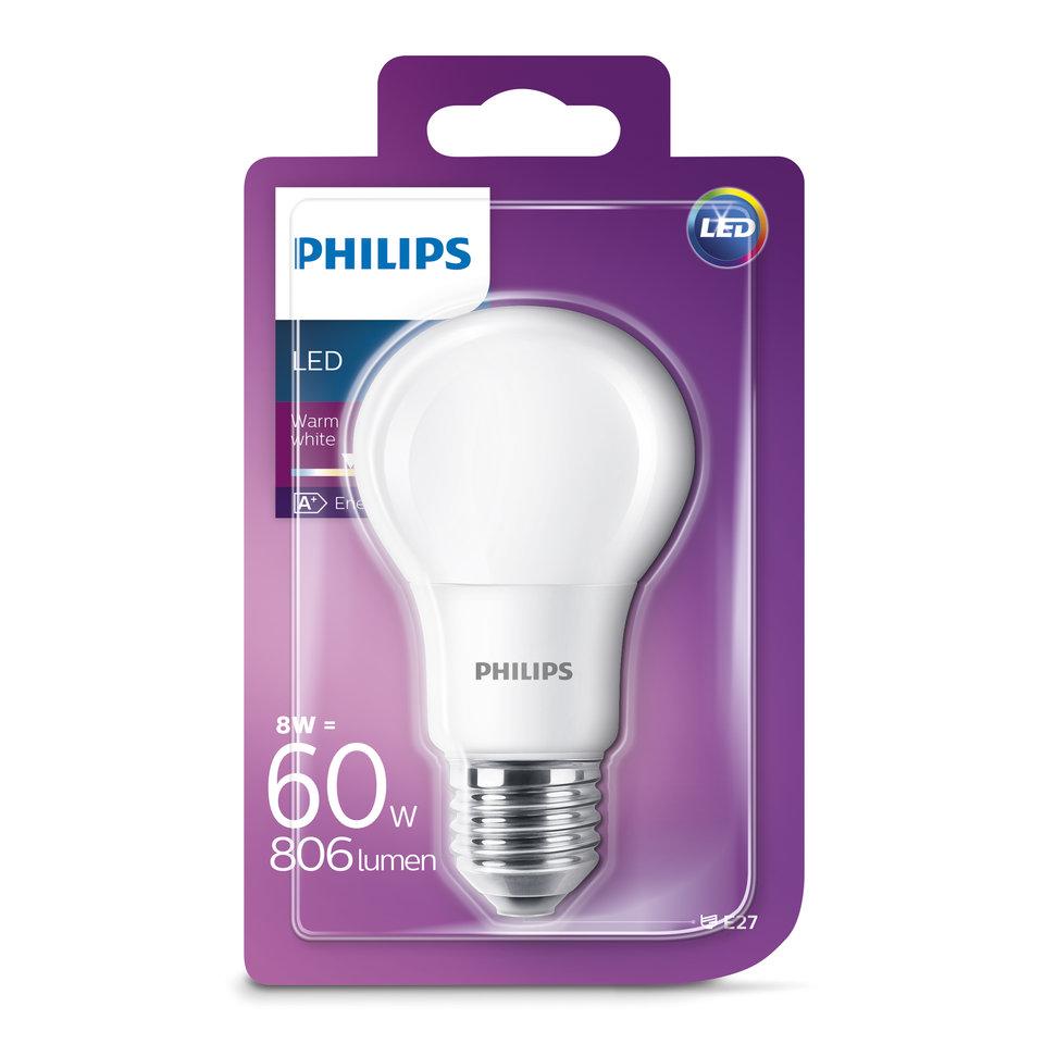 Lampe Led 60w E27 Ww 230v A60 Nd4 Delhaize Be