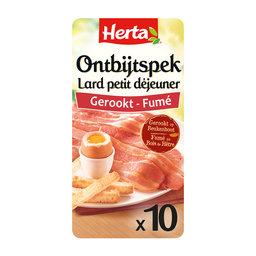 Ontbijtspek Gerookt | 10 sneden