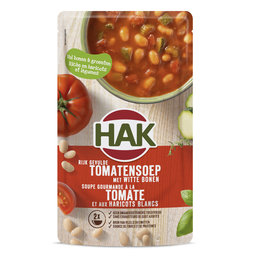 Soupe | Tomates haricots blancs