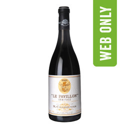 ERMITAGE PAVILLON 2001 ROUGE | Bio