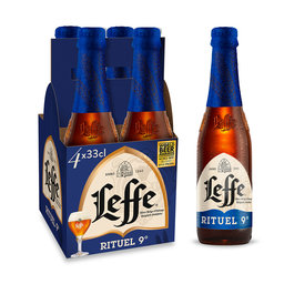 Bière d'abbaye   9% ALC.   Bouteille