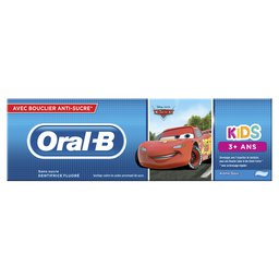 Dentifrice | Enfant | +3 ans | Frozen/Cars