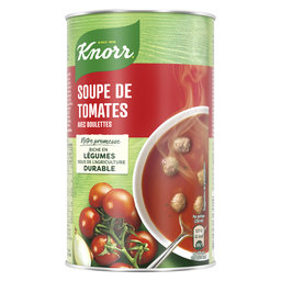 Soupe en boîte | Tomates et boulettes