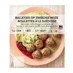 Balletjes | Zweedse peperroomsaus