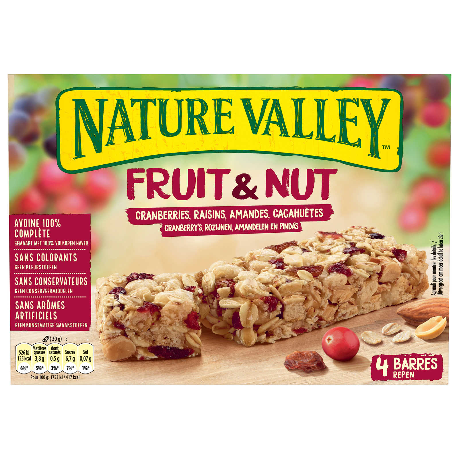 Nature Valley-Fruit & Nut