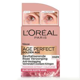 Golden Age  Crème yeux   Peaux mature
