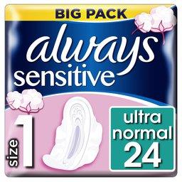 Serviettes   Sensitive   Ultra Night   Value Pack