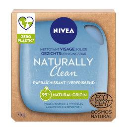 Naturally Clean   Nettoyant visage solide   Rafraîchissant