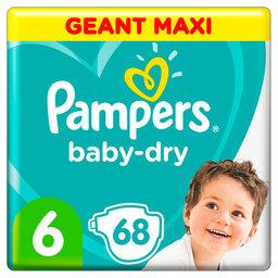 Luiers   Baby dry   68st   Maat 6