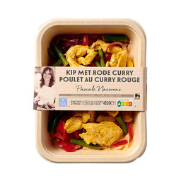 Pascale Naessens | Poulet curry rouge