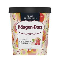 Crème glacée | White peach - raspberry
