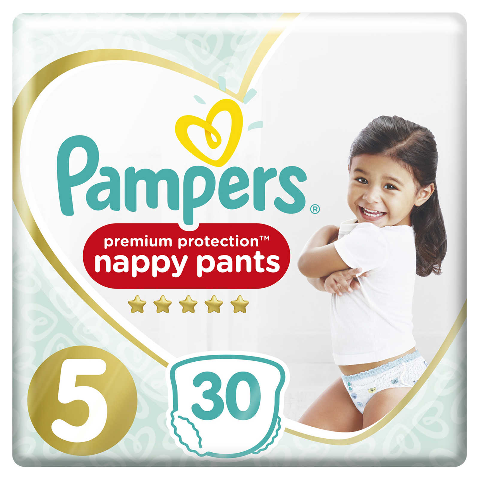 Pampers-Premium Protection