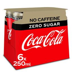 Cola   Zero   Sans caféïne   Can