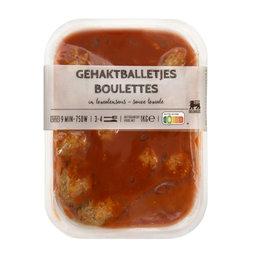 Balletjes tomatensaus