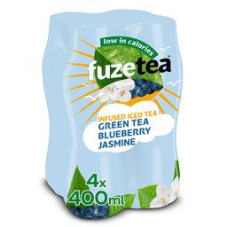 Fuze tea | Groene thee | Bosbessen | Jasmine | 4X0.4L