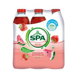 Spa   Duo   6x1L   Aardbei   Watermeloen
