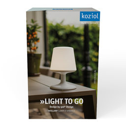 Light to go | Lampe rechargeable
