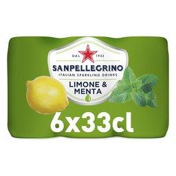 Limonade   Limoen   Munt   Blik