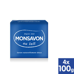 Savon   Original   4x100 g