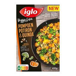 Veggie love   Pompoen-quinoa