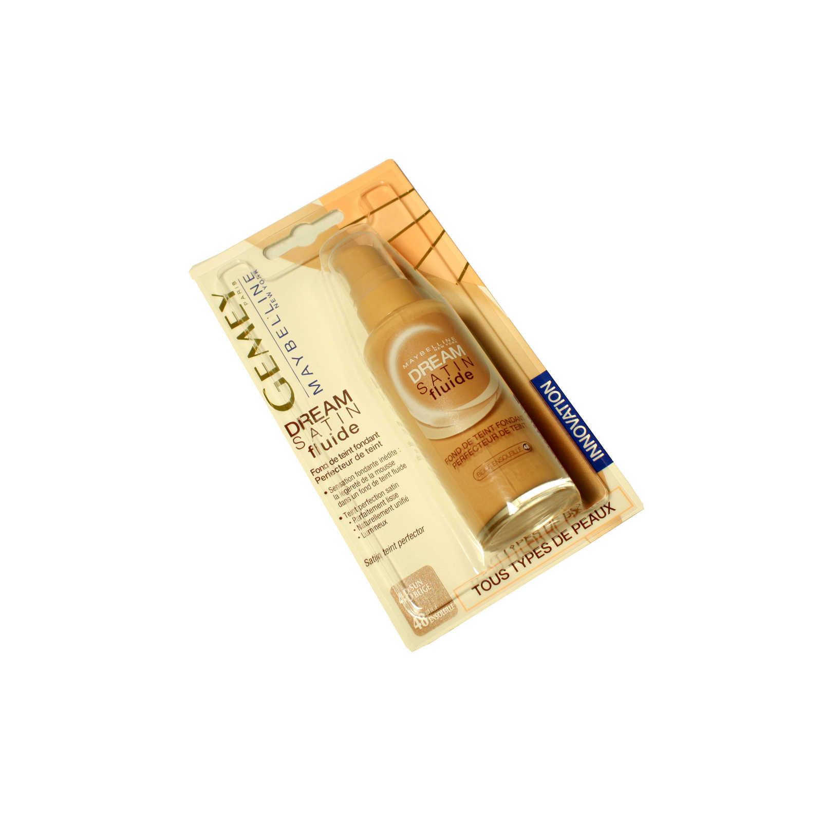 Gemey Maybelline Foundation Dream satin Fluide 48 Sun beige   delhaize.be 7de571f5d38