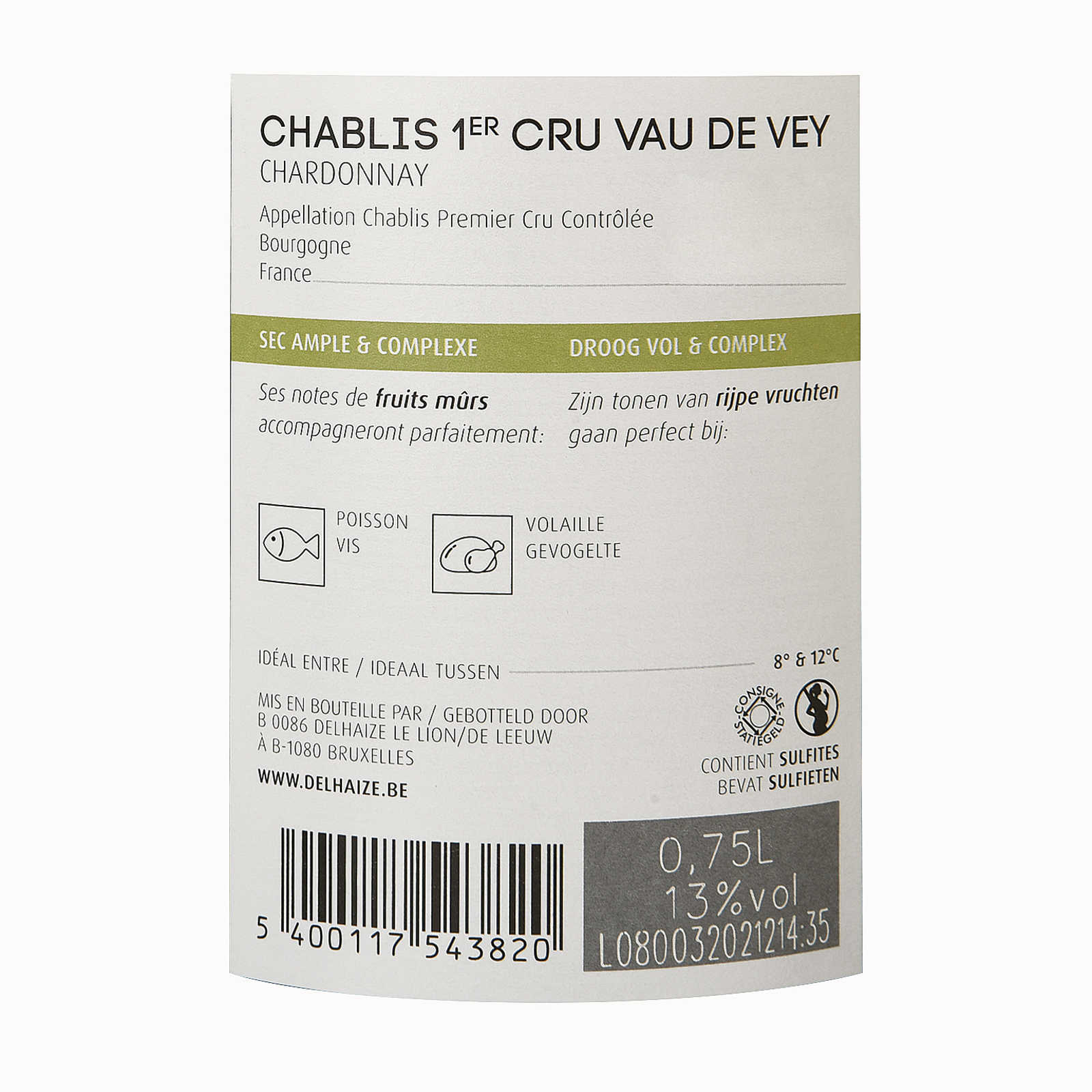 France - Frankrijk-Bourgogne - Chablis 1er Cru