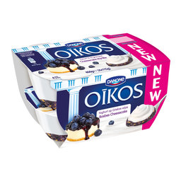 Oikos | Yoghurt vol | bosbes cheesecake