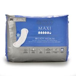 Protect Urineverlies  matig tot zwaar   Maxi  Extra+   Aloe Vera 10 pc
