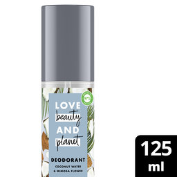 Déodorant Pump Spray | Coconut Water & Mimosa Flower | 125 ml