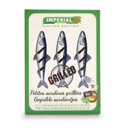 Sardines | Gegrild | Oregano