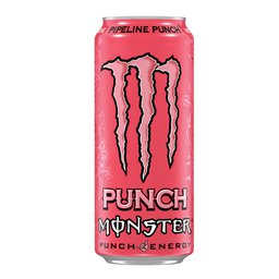 Energy drink | Pipeline | Punch | Blik