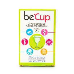 Menstruatie cup | Maat 1 | Voor lichte menstruatie.