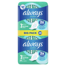 Serviettes Hygieniques   Ultra Normal+   Protection