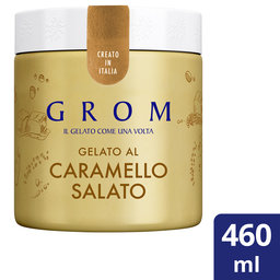 Grom | Pint | Salted | Caramel | 460Ml