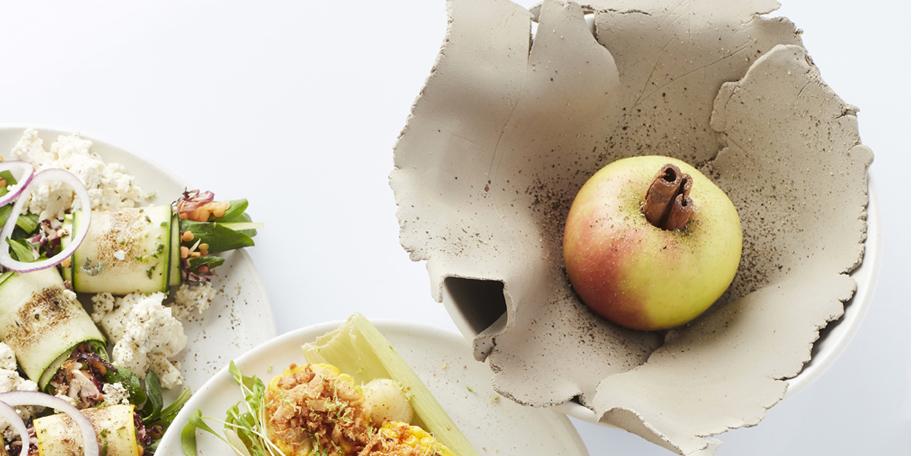 Pomme en cage d'argile