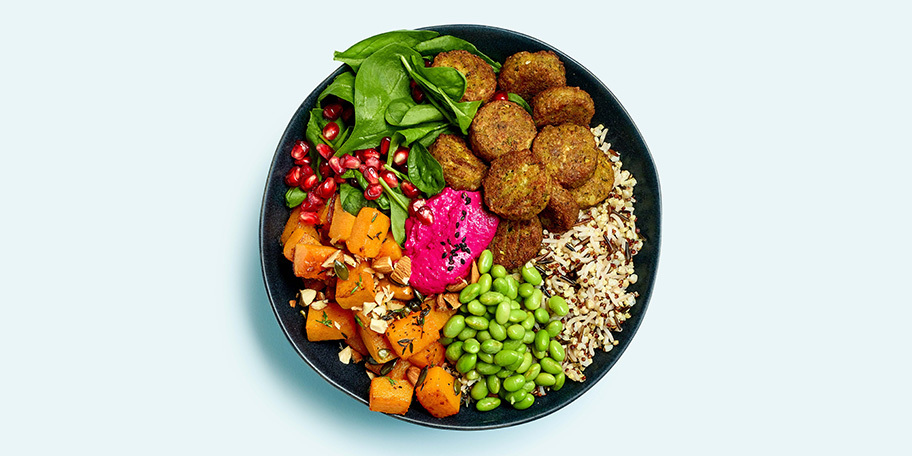Autumn Bowl aux falafels
