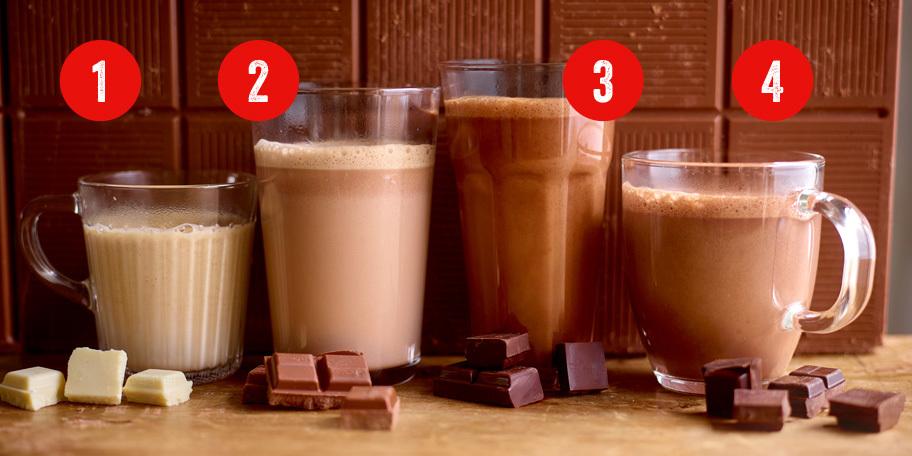 Chocolat chaud (Sweet Monkey Business, Jaffa, Aztec ou Classic Extra)